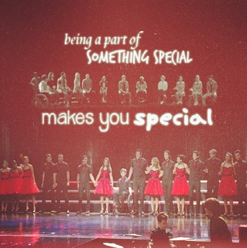 Happy 4 years of glee(: