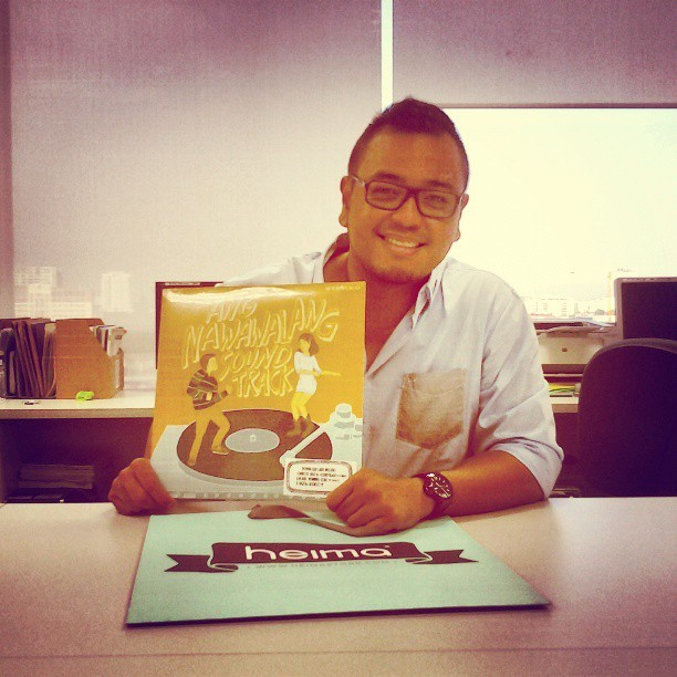 Ang Nawawala OST vinyl copy. FINALLY!!!! Thank you, @lizzyalberto :-) #angnawawala #highfivemofos