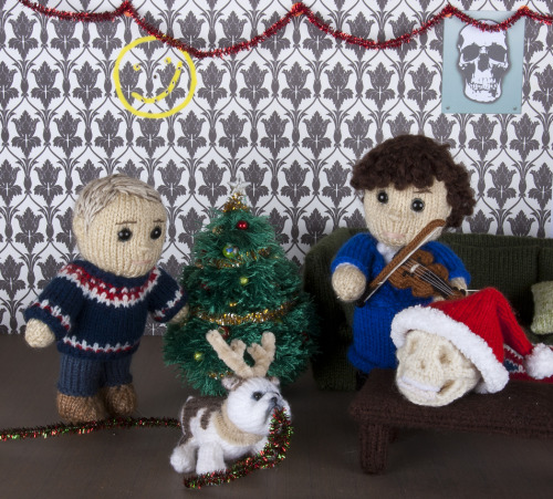 'Christmas at 221B Baker Street' by Kat Bifield