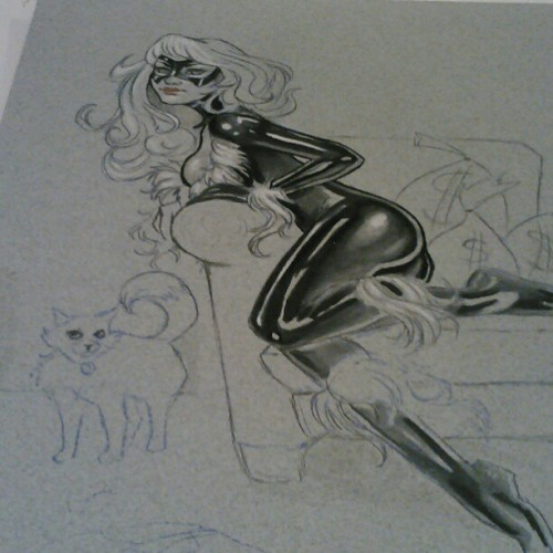#blackcat #progress #victra #meow