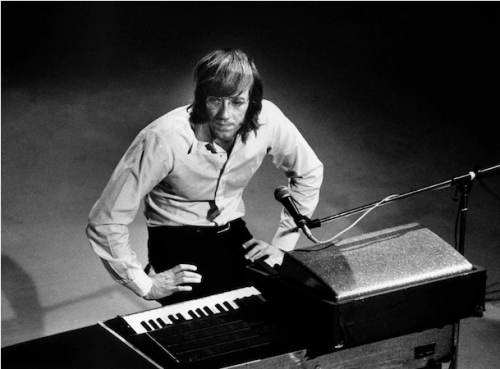 kvetchlandia:  Ray Manzarek     Uncredited and Undated Photograph Ray Manzarek, Keyboardist for The Doors, 1939-2013,  Ave atque Vale