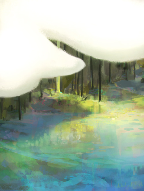 indolentjellyfish:  those puffy white things again. (print available)