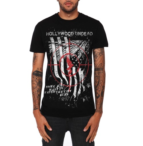 HOLLYWOOD UNDEAD CITY BURN T-SHIRT Buy @ HOT TOPIC: HERE