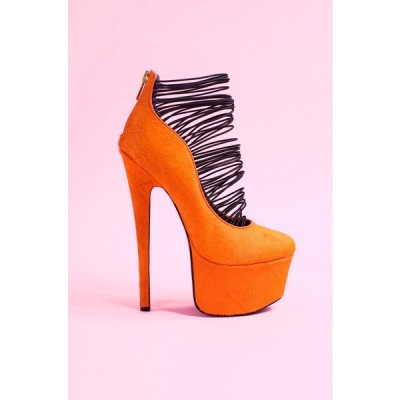 London Trash pumps   ❤ liked on Polyvore (see more high heel platform shoes)
