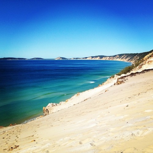 Yup, horrible place… #rainbowbeach #sandblow  (at Carlo Sandblow)
