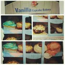 Cravinggggggs. #food #Vanilla #cupcake #Bakery #yummy #sweets #throwback #igdaily
