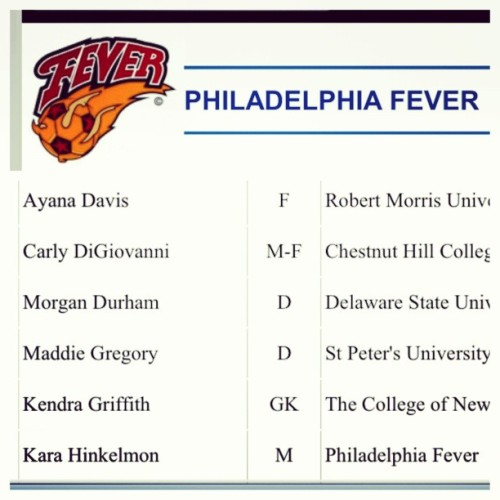 here we go !!! Women's professional soccer league #phillyfever #2ndseason #12. One love @ayananicole_ finally #twins #sisters #family ⚽❤❤