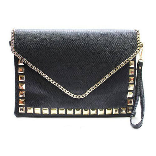 Clutch   ❤ liked on Polyvore (see more black clutches)
