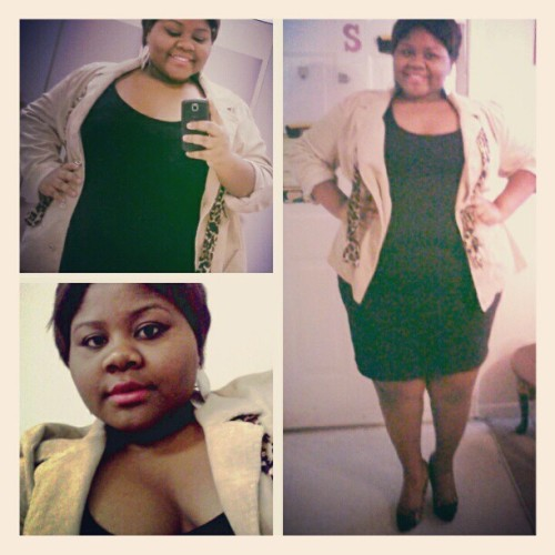 plussizedchronicles:  Yesterday, for the wedding…