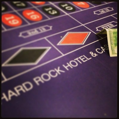 Here we go! #Roulette #Vegas #HardRock  (at Hard Rock Hotel & Casino)
