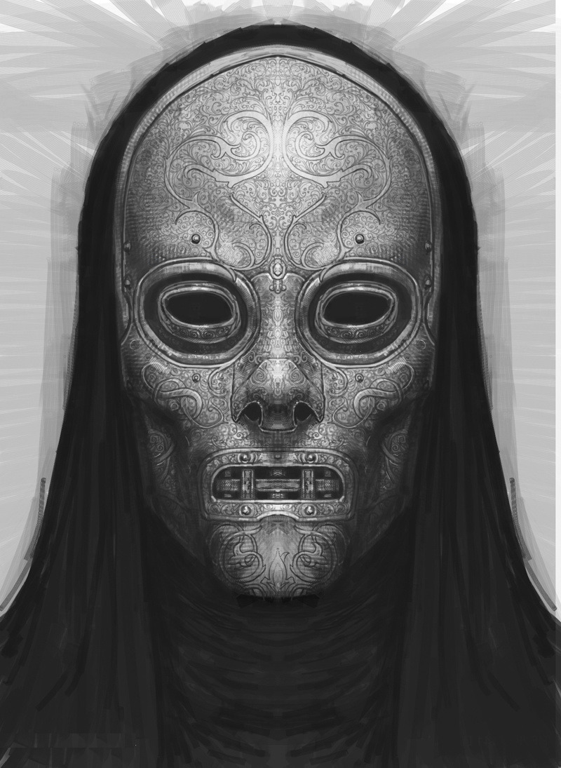 xombiedirge:  Harry Potter Concept Art: Death Eaters by Rob Bliss