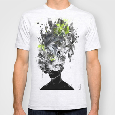 "New T-shirt of my artwork titled ""Taegesschu"" now available at : LinkThank you!"