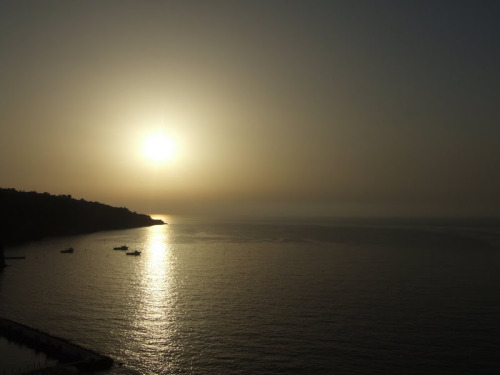 sunset in Sorrento, Amalfi Coast, Italy love sunsets… here are more of them on my blog