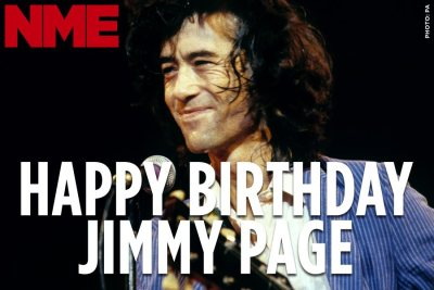 Led Zeppelin's Jimmy Page turns 69 today. All hail!
