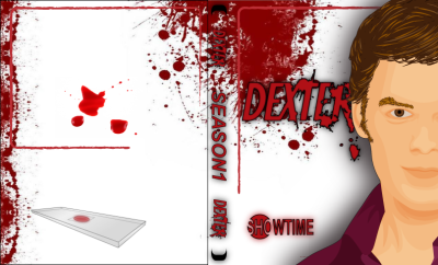 Dexter conceptual DVD slip cover graphic created by myself on adobe illustrator