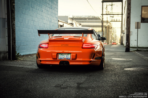 crash—test:  GT3RS (by Marcel Lech)
