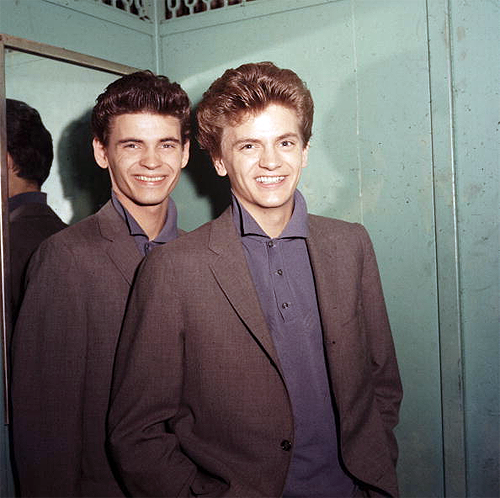 klchaps:  The Everly Brothers, 1958.