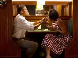 "One night President Obama and his wife Michelle decided to do something out of routine and go for a casual dinner at a restaurant that wasn't too luxurious. When they were seated, the owner of the restaurant asked the President's secret service if he could please speak to the First Lady in private. They obliged and Michelle had a conversation with the owner.Following this conversation President Obama asked Michelle, ""Why was he so interested in talking to you?"" She mentioned that in her teenage years, he had been madly in love with her. President Obama then said, ""So if you had married him, you would now be the owner of this lovely restaurant?"" Michelle responded, ""No, if I had married him, he would now be the President."""