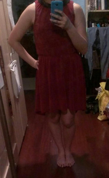 (Day 94/365; 052013): I got lots of compliments on my dress today :D