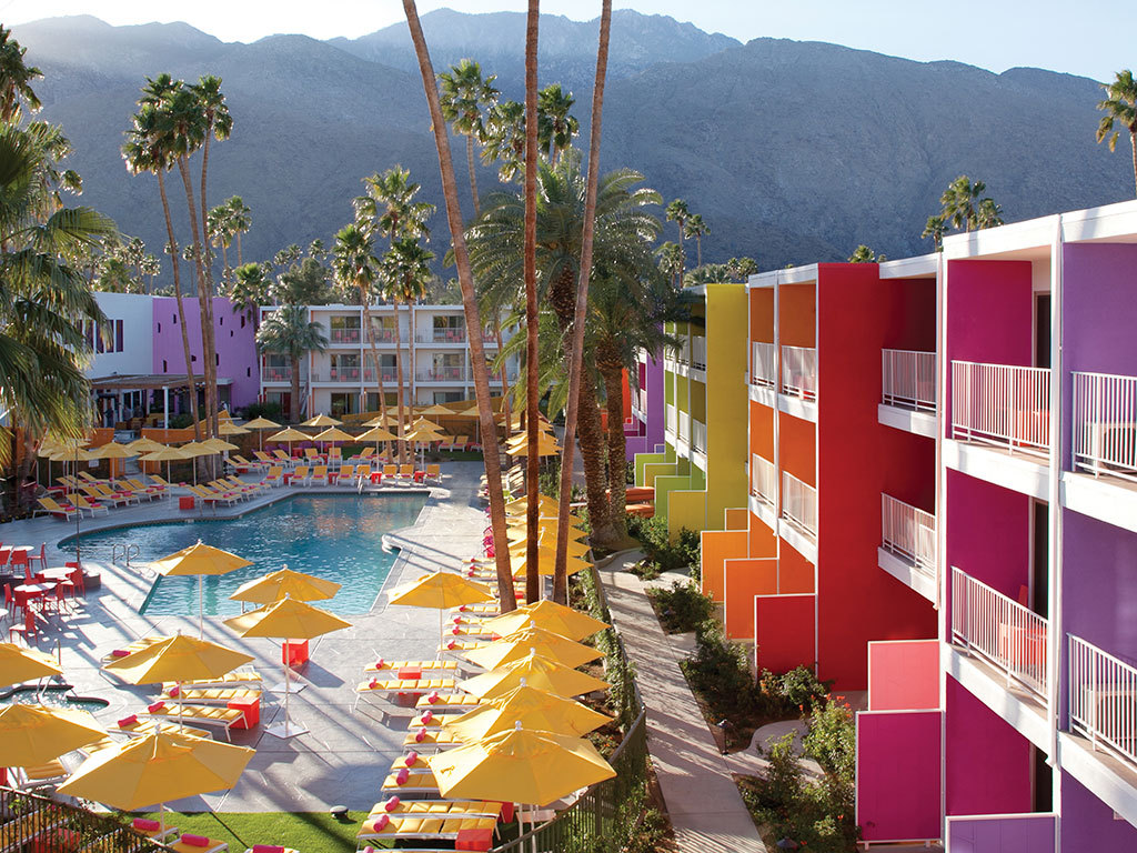 condenasttraveler:  The Best New Hotels in the United States | The Saguaro, Palm Springs