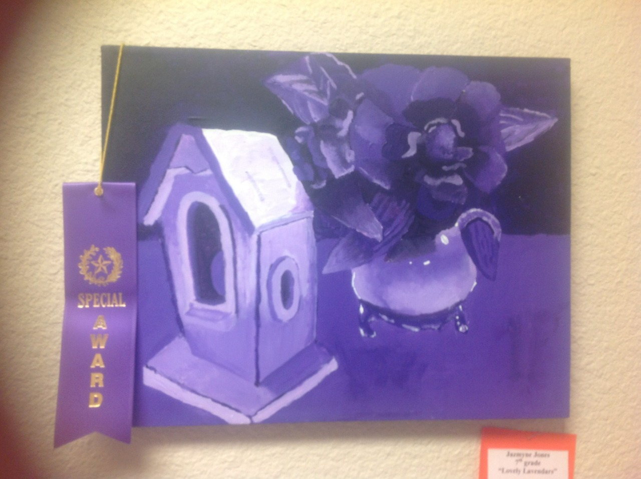 My painting for LCCS art competition