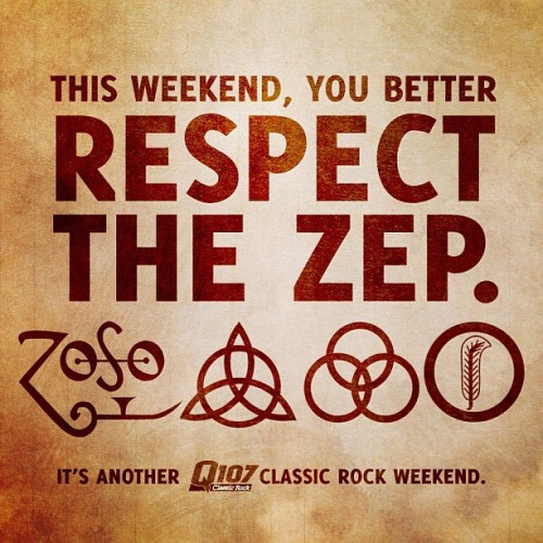 "It's the Q107 ""Respect the Zep"" Classic Rock Weekend! We're getting the Led out all weekend long, so tune in and join us! #q107 #toronto #ledzeppelin #classicrock #rock #roll #music #led #england #zep #loud #bonzo #page #plant  (at Q107 Toronto Studio)"