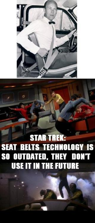 Star Trek & Seat Belts