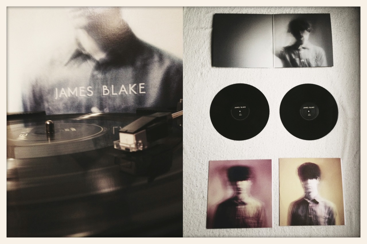 greggmccurry:  James Blake - S/T Double LP