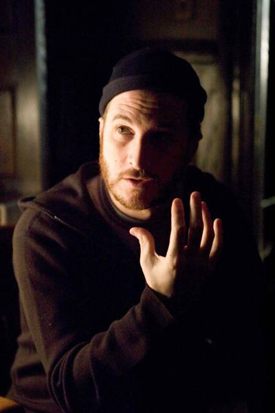 fuckyeahdirectors:  Darren Aronofsky on-set of The Fountain (2006)