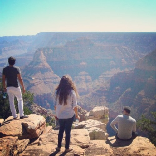 #tbt #grandcanyon with #tykelly throwing up, @sommerayne @genuinenigma @ashleymacias_  these fools know how to party