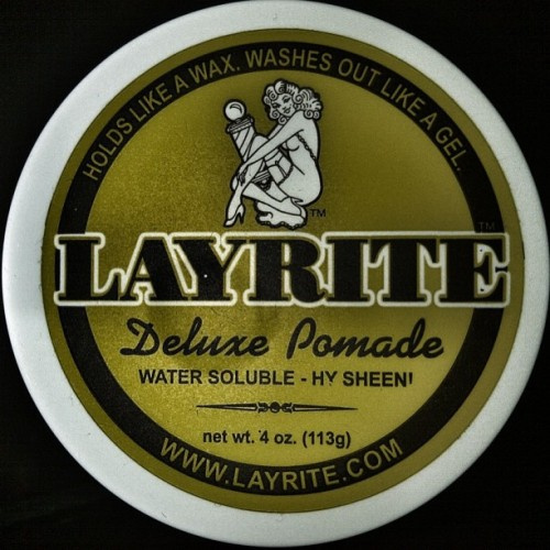 Managed to get my Layrite Pomade today. Uppercut Deluxe Pomade was out of stock so i decided to settle for this.