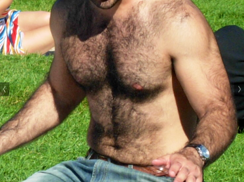 hairyguysrule:Sexy&#160!!!! Love that man body!!!http://woofproject.tumblr.com