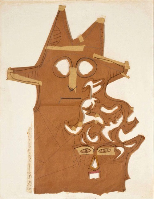 Saul Steinberg Untitled (Mask)
