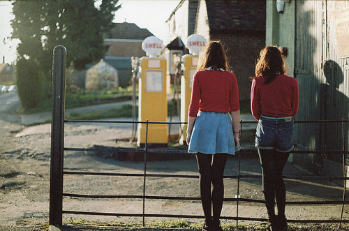 limpforward:  Tuesday evening by millie clinton. on Flickr.  red