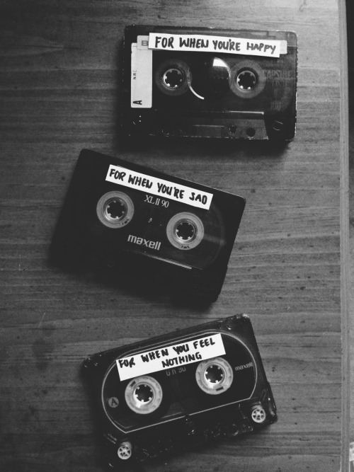 Mixed Tapes are the story of my life.