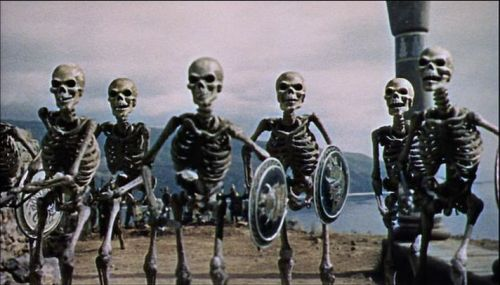 "tlacapatani:   Stop motion pioneer Ray Harryhausen died in London today, May 7th.  Harryhausen was born in June 1920, and developed an interest in stop motion animation after seeing the 1933 version of King Kong. According to the obituary released by the Harryhausen Foundation: ""He made his first foray into filmmaking in 1935 with home-movies that featured his youthful attempts at model animation.  Over the period of the next 46 years, he made some of the genres best known movies – Mighty Joe Young (1949), It Came From Beneath the Sea (1955),  20 Million Miles to Earth (1957), Mysterious Island (1961), One Million Years B.C. (1966), The Valley of Gwangi (1969), three films based on the adventures of Sinbad, and Clash of the Titans (1981).  He is perhaps best remembered for his extraordinary animation of seven skeletons in Jason and the Argonauts (1963) which took him three months to film."" Tributes began appearing instantly online, with Simon Pegg noting, ""Ray Harryhausen an inspiration and a legend, even before he left us. His influence cannot be measured and has shaped cinema as we know it.""   Not related to race, but I'm sure movie buffs would be interested in knowing."