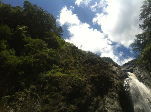 No filter//straight God's creation.   Upper Falls: Jarabocoa, Dominican Republic