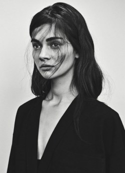 Antonina Vasylchenko in Intermission #7 S/S 2013 by Sebastian Kim