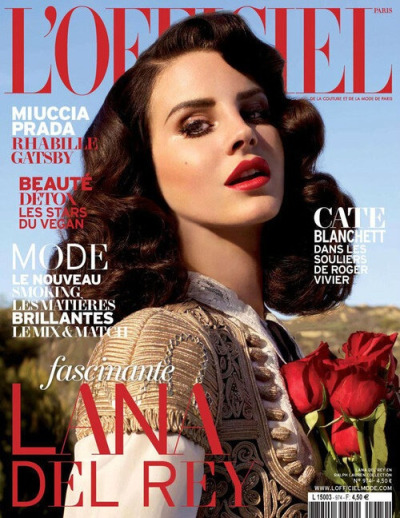 mulberrynotblackberry:  Lana Covers L'Officiel Paris, Photographed by Nicole Nodland