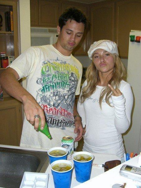 oldloves:  Stephen Colletti & Hayden Panettiere  What's up some!
