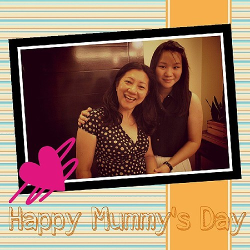 HAPPY MAMA'S DAY! You know that I LOVE you so much!!! BEST MUM ever!♥♥♥