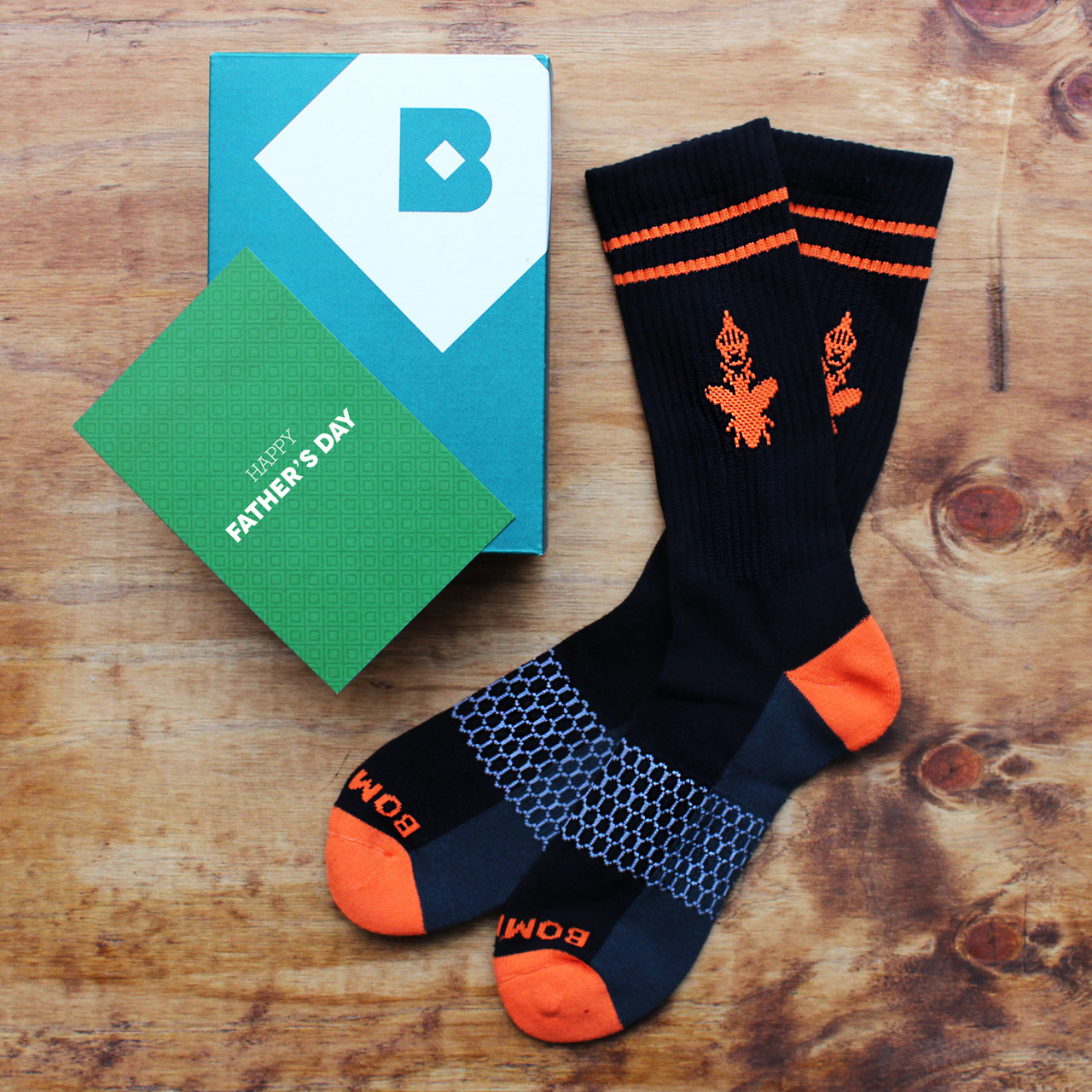 This Father's Day, switch it up and gift him a subscription to Birchbox Man! He'll be stylish and well-groomed all year. PLUS, while supplies last, you can add these stylish, über comfy Bombas socks to his order for FREE.  (NOTE: Today, June 4, is the LAST DAY to gift a subscription in time for Father's Day delivery!)