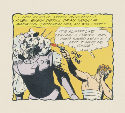ISOLATED COMIC BOOK PANEL #278title: DOOM PATROL #88 - P15:5 artist: BRUNO PREMIANI year: 1964