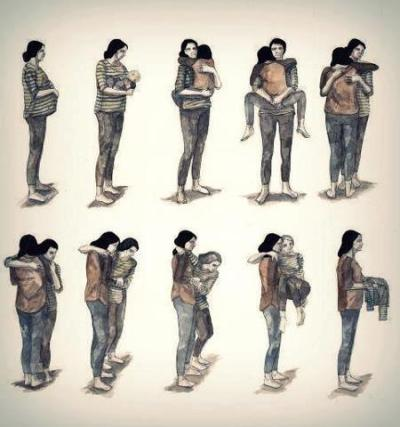 "akhirulsyah:  SubhanAllah! ""Remember to love your parents.We are so busy growing up, we often forget they are also growing old."""