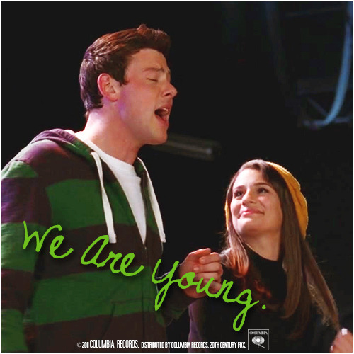 3x08 Hold On To Sixteen | We Are Young Alternative Cover 'The Faithfully Finchel Collection'
