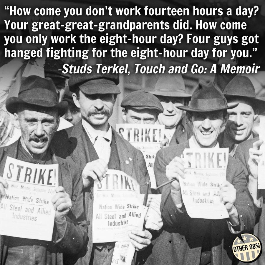 But of course we don't need unions any more. (via Union Thugs)