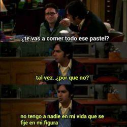relationship alone amor The Big Bang Theory pastel triste Raj Koothrappali depressive depresion desamor Soledad tristesa La teoria del big bang