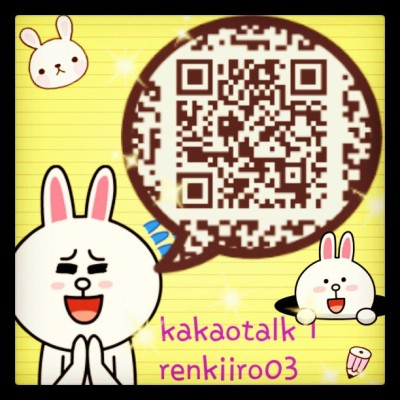 안녕하새요~!! this my kakaotalk ID and QR. let's talk at kakaotalk. (*^﹏^*) #kakaotalk #katalk #katalkID #LINE #LINEPLAY #naverline #naver #cute ﹋o﹋