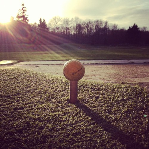 Spring is here. #golf