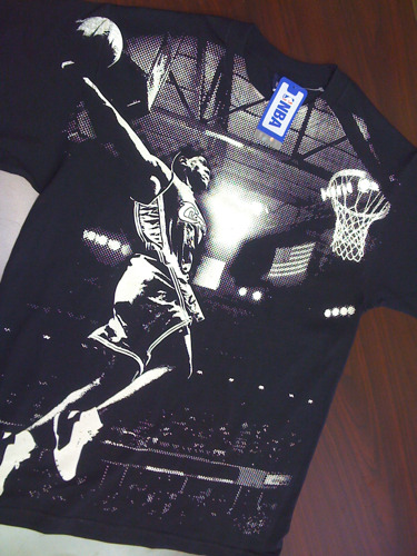 •AllOver Print •Discharge Ink •Lebron James